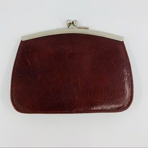 Wilsons Leather Vintage Italian Leather Card Case